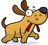 42733634-stock-vector-a-cartoon-dog-walking-with-a-leash-in-his-mouth-